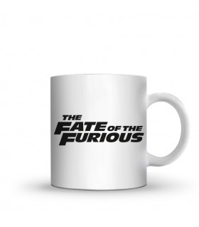 the fate of the furious printed mug